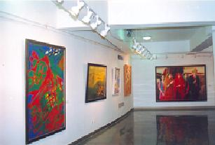 Art Gallery inside Auditorium